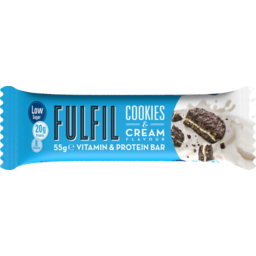 Photo of Fulfil Protein Bar Cookies And Cream 55g 55g