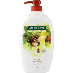Photo of Palmolive Naturals Soap Free Shower Milk Body Wash Milk & Shea Butter 1l