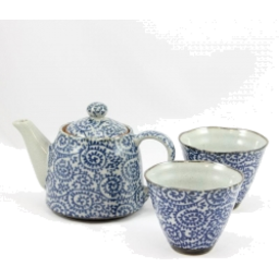 Photo of JSTYLE Spiral Cone Cup Tea For Two Set