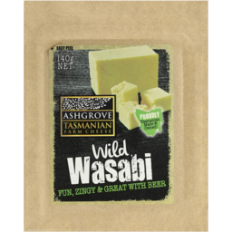 Photo of Ashgrove Cheese Wild Wasabi Cheddar 140g