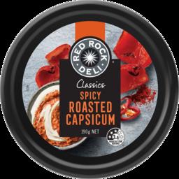 Photo of Red Rock Deli Classic Spicy Roast Capsicum Dip 190g