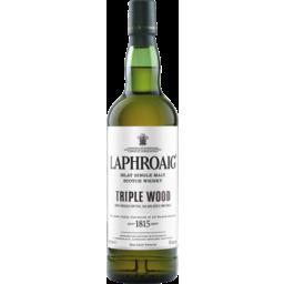 Photo of Laphroaig Triple Wood Malt Whiskey