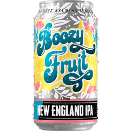 Photo of Big Shed Brewing Boozy Fruit New England IPA Can 4pk