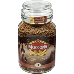 Photo of Moccona French Style Smooth & Rounded 200g