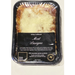 Photo of Artisan Lasagne Meat 500gm