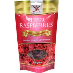 Photo of Dr Superfoods Dried Raspberries