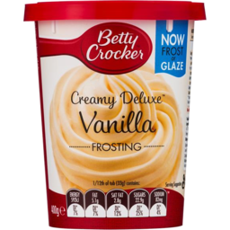 Photo of Betty Crocker Frosting Vanilla 400g