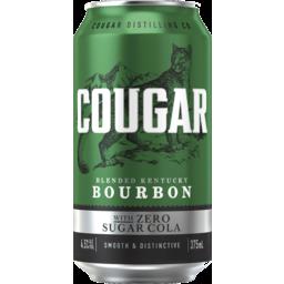 Photo of Cougar & Zero Cola Can