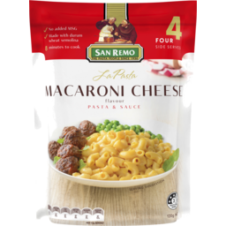 Photo of San Remo La Pasta Macaroni & Cheese 120g