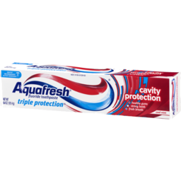 Photo of Aquafresh Triple Protection Cavity Protection Fluoride Toothpaste Cool Mint