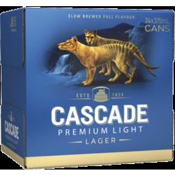 Photo of Cascade Premium Light Can Cube 375ml 24 Pack