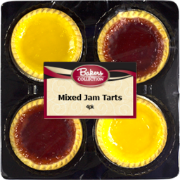 Photo of C/Delight Tarts Jam Ast 4p180g