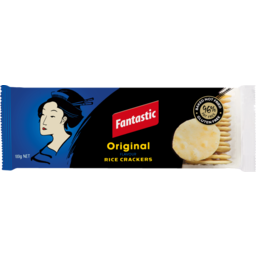 Photo of Fantastic Rice Crackers Original 100g