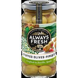 Photo of Always Fresh Spanish Stuffed Olives 700g