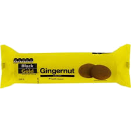 Photo of Black & Gold Gingernut Cookie 250gm