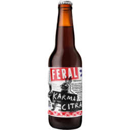Photo of Feral Karma Citra Black IPA Stubbies