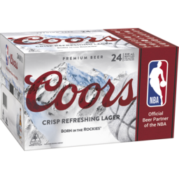 Photo of Coors 4.2% 330ml 24 Pack