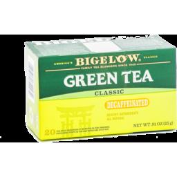Photo of Bigelow Green Tea Decaffeinated