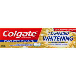 Photo of Colgate Advanced Whitening Tartar Control Toothpaste