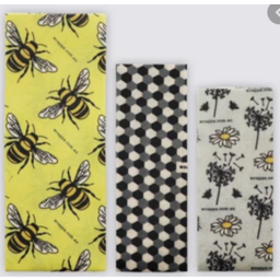Photo of Wraps Beeswax (3) - Bees
