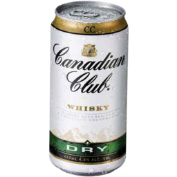 Photo of Canadian Club & Dry Can