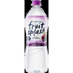 Photo of Aqua Pura Fruit Splash Wildberry 1l