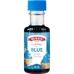 Photo of Queen Food Colour Blue 50ml