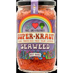 Photo of Peace Love & Vegetables Superkraut - Seaweed