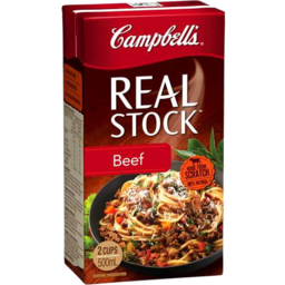 Photo of Campbell's Real Stock Beef 500ml