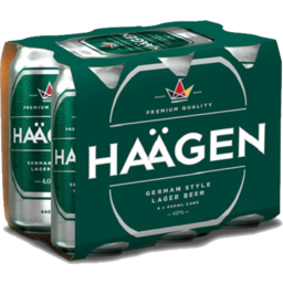 Photo of Haagen Lager 6 x 440ml Cans