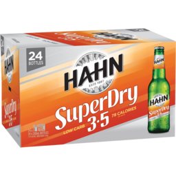 Photo of Hahn Super Dry 3.5 Bottles