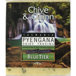 Photo of Pyengana Chive & Onion Cheddar