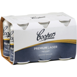 Photo of Coopers Premium Lager Cans