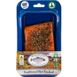 Photo of Woodbridge Hot Smoked Trout Pepper 150g