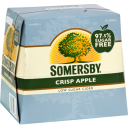 Photo of SOMERSBY CRISPY APPLE LOW SUGAR 12PACK