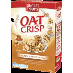Photo of Uncle Tobys Oat Crisp Honey & Macadamia 475gm