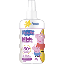 Photo of Cancer Council Sun Screen Pepper Pig 50+ 200ml