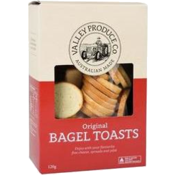Photo of Valley Produce Company Bagel Toasts Original 120g
