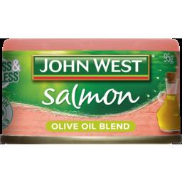 Photo of John West Salmon Olive Oil Blend 95g