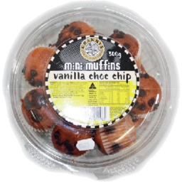 Photo of Grannys Vanilla Choc Chip Mini Muffins 300g