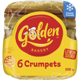 Photo of Golden 6 Crumpets 300g