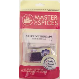 Photo of Master Of Spices - Saffron Threads - 1g