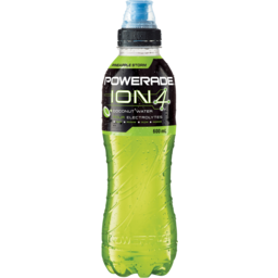 Photo of Powerade Ion4 Pineapple Storm Sports Drink Sipper Cap 600ml