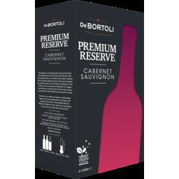 Photo of De Bortoli Premium Reserve Cabernet Sauvignon