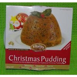 Photo of Christmas Pudding Gf 900g