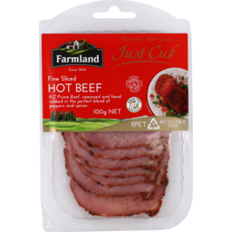 Photo of Farmland Foods Just Cut Hot Beef 100g