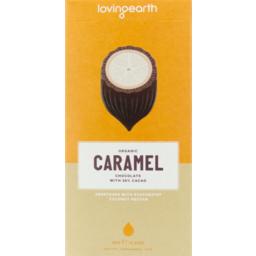 Photo of Loving Earth Caramel Chocolate Bar 80g