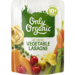 Photo of Only Organic Vegetable Lasagne 10+ Months 170g 170g