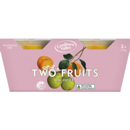 Photo of Goulburn Valley Two Fruits In Juice 2 Pack 170g