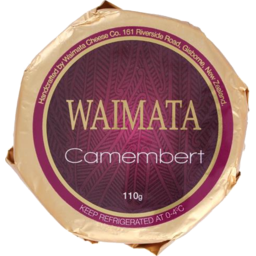 Photo of Waimata Cheese Camembert 110g